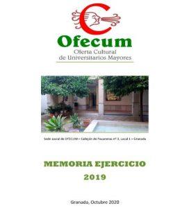 memoria ejercicio 2019